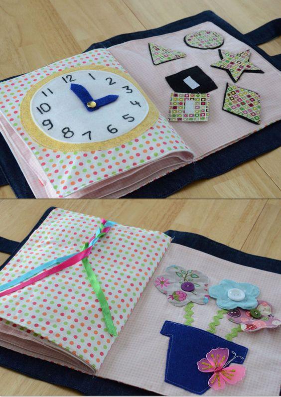 Libro tranquilo para los niños por sweetdreams3 en Etsy