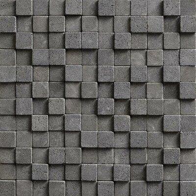 Meraki 3d Tumbled 12 X 12 Basalt Mosaic Tile Wayfair In 2020 Mosaic Tiles Stone Mosaic Tile Basalt Tile