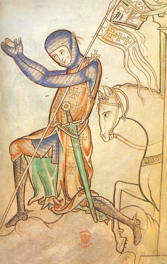Simon De Montfort the Crusader   Simon De Montfort