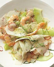 Shrimp, Honeydew and Jicama Salad