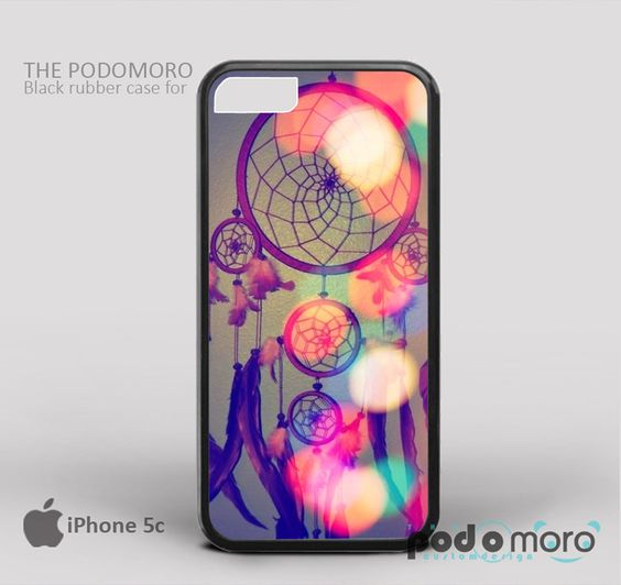 Dream Big Dream Catcher for iPhone 4/4S, iPhone 5/5S, iPhone 5c, iPhone 6, iPhone 6 Plus, iPod 4, iPod 5, Samsung Galaxy S3, Galaxy S4, Galaxy S5, Galaxy S6, Samsung Galaxy Note 3, Galaxy Note 4, Phone Case