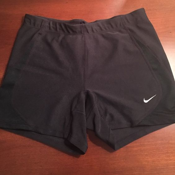 Nike dry fit running shorts Dry fit / stretch / women's running boy shorts / worn once Nike Shorts