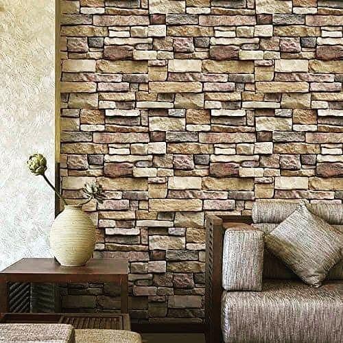 Tapetul Este Varianta De Succes Accesibilă Oricui și Din Ce In Ce Mai Adaptat Pentru Diverse Sp Wall Stickers Brick Wall Stickers Bedroom Brick Wall Wallpaper