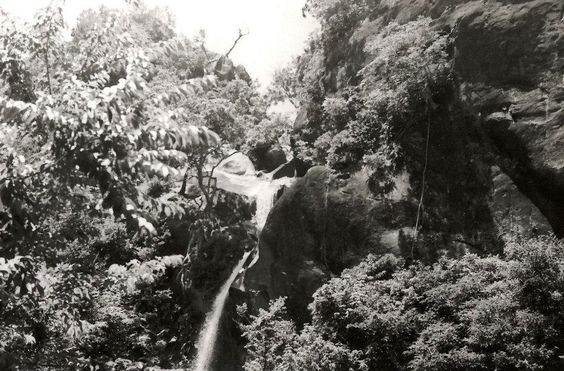 We loved this waterfalls. Okinawa, 1970-1981.