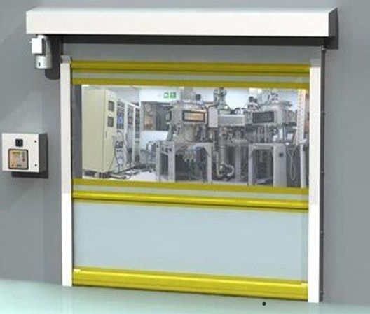 Albany Ultra Clean High Speed Door In 2020 High Performance Column Design High Speed