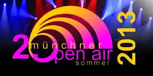 2. Münchner Open Air Sommer: 13 Konzerte von Klassik bis Pop (26.07. - 18.08.)