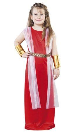 Disfraz de Romana Dama infantil