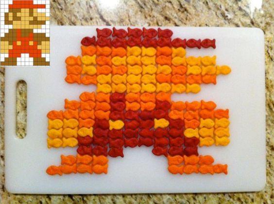 Gold Fish Mario