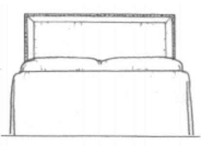 HF 901   Headboard   Hallman Furniture