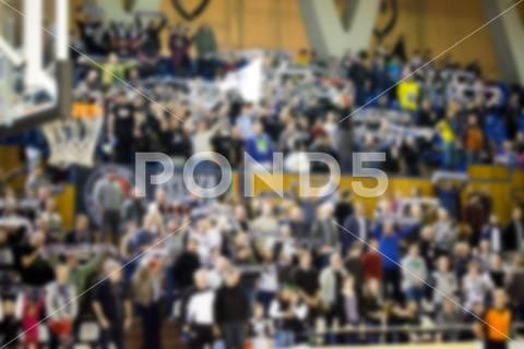 Blurred Background Of Crowd Of People In A Basketball Court Stock Photos Ad Crowd People Blurred Background Blurred Background Stock Photos Basketball Court