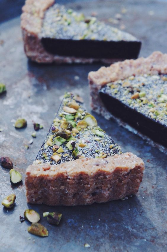 explore these ideas and more pistachios tarts chocolate honey dinner