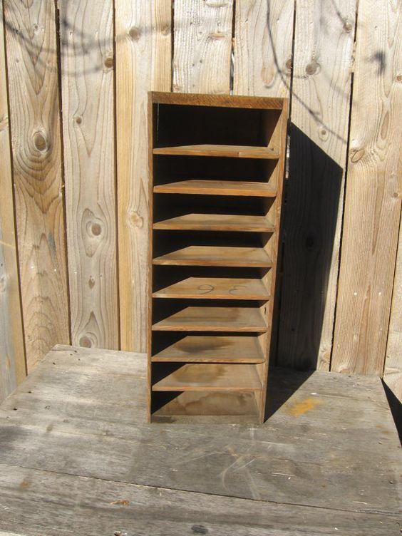 Primitive  Wood File by JunkBoutique on Etsy