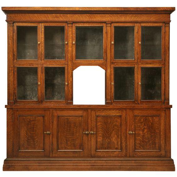 spectacular original antique general store tobacco cabinet in quarter sawn oak antique furniture apothecary general store