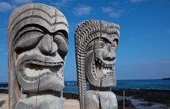 Tikki hawaïen Photos stock