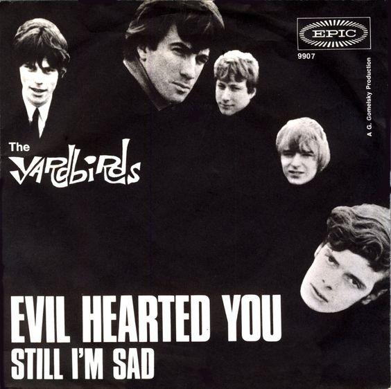 The Yardbirds, Evil Hearted You Single, Germany 1966