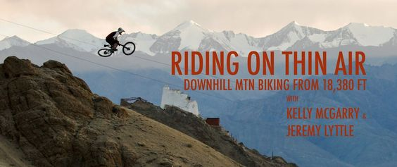 Riding on Thin Air: Abfahrt aus 5.359 Metern Höhe (Downhill Moutain Biking)