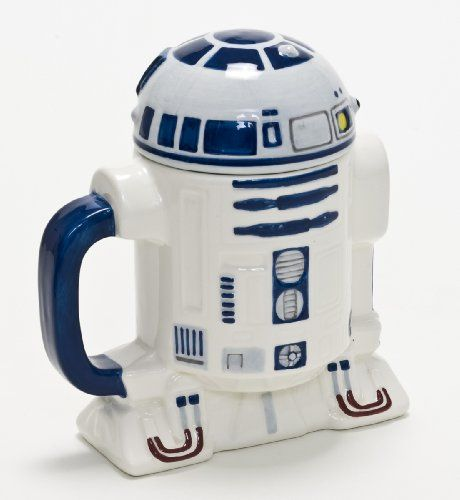 Star Wars 3D Mug R2-D2 with lid