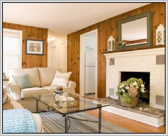 Update Knotty Pine Walls With Flooring Google Search