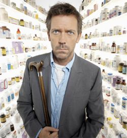 How can you not love Dr. House?