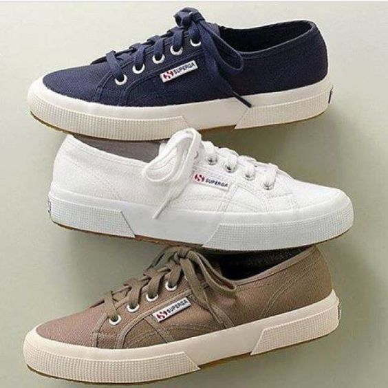 What's the best colour for a Monday morning? Cheer yourself up with #Superga!! #SupergaLove