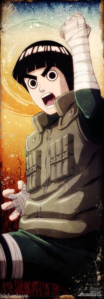 Naruto Shippuden Rock Lee Poster Portrait Anime Official Japan   eBay