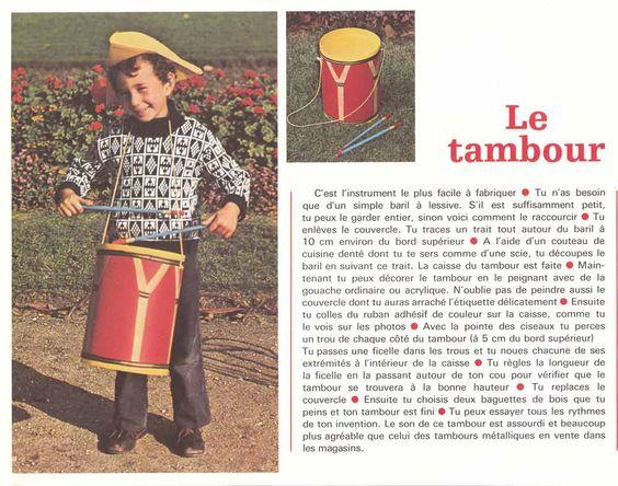 Jeunes années N°8 1973, Activités de loisirs 70's, pédagogie active