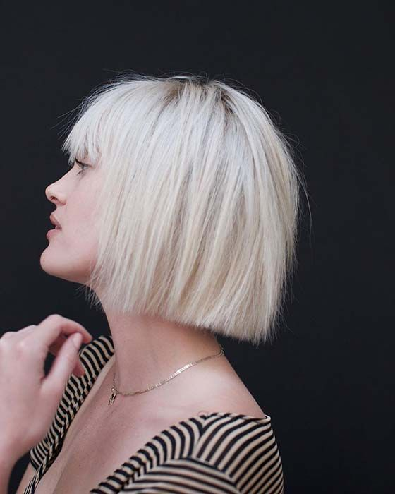 23 Best Short Bob Haircut Ideas To Copy In 2020 Fashion Blog Blonde Blunt Bob Bobs Haircuts Short Bob Haircuts
