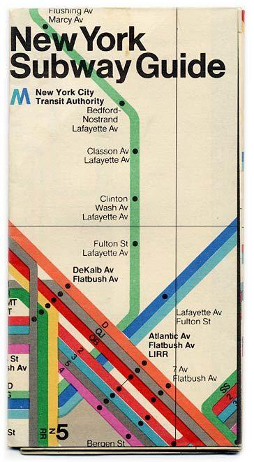 Retro metro map.