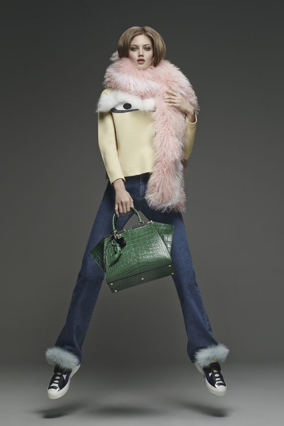 The Fendi PreFall 2015 collection, available now on fendi.com