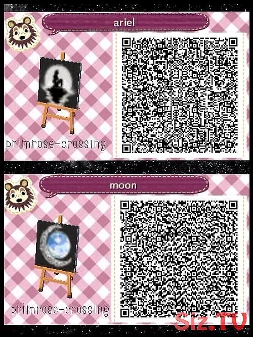 Image Result For Animal Crossing New Leaf Small Mermaid Qr Code