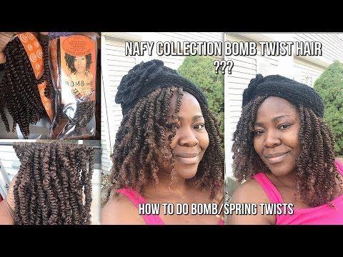 How To Do Bomb Twists Fluffy Spring Twists Tutorial Nafy
