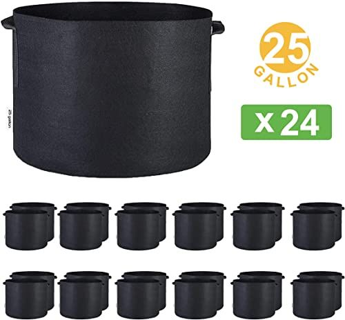 Enjoy Exclusive For Oppolite 1 2 3 5 7 10 15 20 25 30 45 Gallon Round Fabric Fabric Aeration Pots Container Nursery Garden Planting Grow 25 Gallon 24 Pack O In 2020 Aerator California Umbrella 10 Things