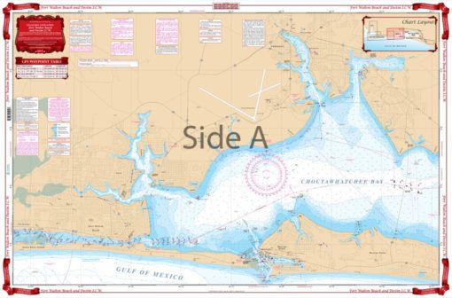 Fort Walton Beach and Destin ICW Navigation Chart 91 ... on creek map, ip map, waterway in va map, sir walter raleigh route map, ice map, arc map, io map, cdc map, oak island north carolina beaches map, safeco map, iso map, aps map, microsoft map, icn map, icc map, axis map, travelers map, north carolina inland waterway map, marina map,