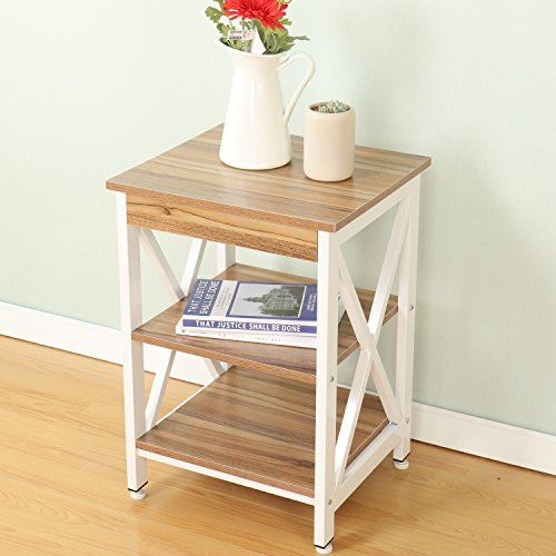 Soges Classic End Table Coffee Table Night Stand Side Table Sofa