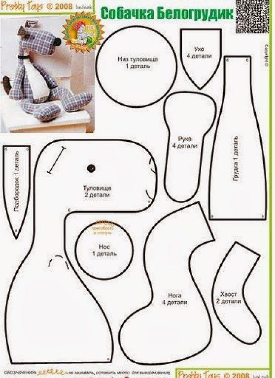 ARTESANATO COM QUIANE - Paps,Moldes,E.V.A,Feltro,Costuras,Fofuchas 3D: 12 moldes de cachorrinhos que você precisa ter