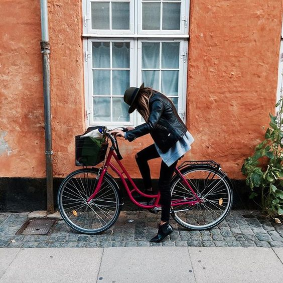 """How to live in #copenhagen #biking #travel"" Photo taken by @bakchic_thelabel on Instagram"