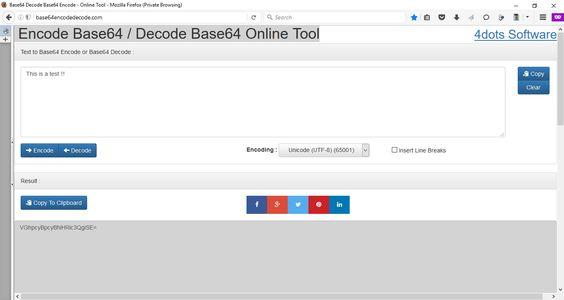 New Web App: Base64 Encode Decode Online Tool – http://base64encodedecode.com