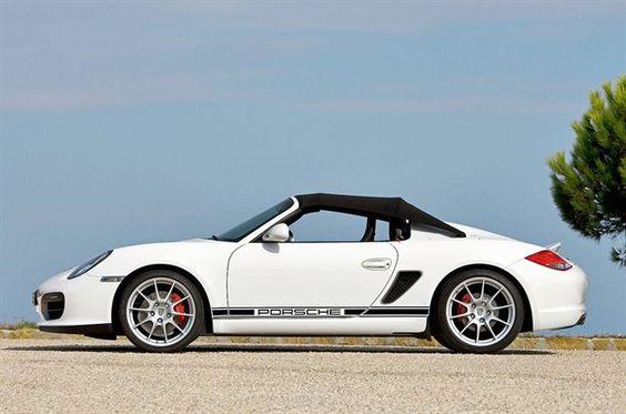 Porsche Boxster Spyder Check out THESE Porsches! --> http://germancars.everythingaboutgermany.com/PORSCHE/Porsche.html