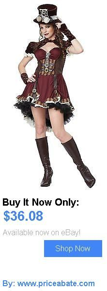 Women Costumes: California Costumes Womens Steampunk Girl Costume Burgundy/Brown Medium New BUY IT NOW ONLY: $36.08 #priceabateWomenCostumes OR #priceabate
