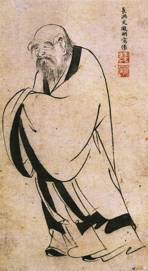 Laozi Painting - #Taoism