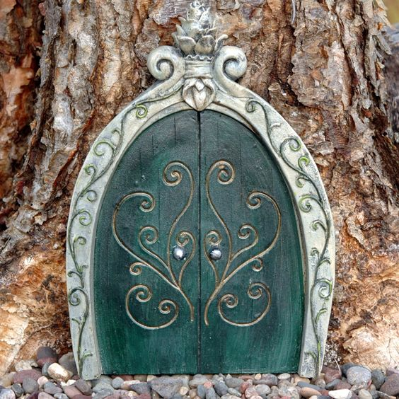 Enchanted fairy door fairies fairy doors pinterest for Fairy front door