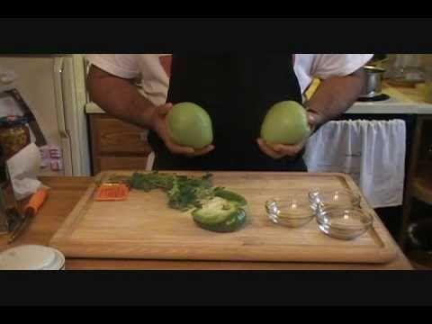 receta de CHAYOTES GUISADOS buena para vegetarianos o no - YouTube