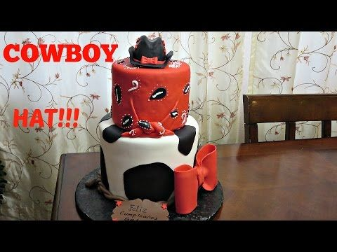 How to make a Cowboy Hat Topper - YouTube