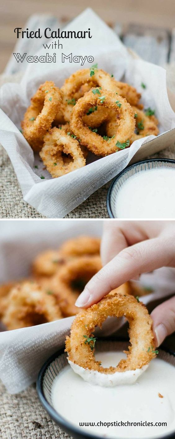 Fried-Calamari-with-Wasabi-Mayo