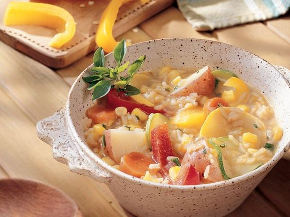 Garden Vegetable Stew-Yummy!  If you are on the Daniel Fast and looking for something different this is great.  I ad Mrs. Dash Table seasoning.