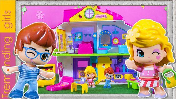 La Villa Pinypon - Pinypon Juguetes Toys - Pinypon en español - Blancani...