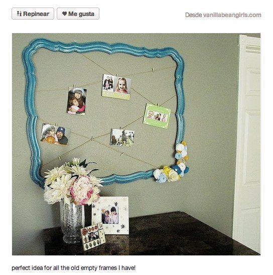 Decorar con cuadros 33 ideas para enmarcar fotos for Enmarcar fotos online