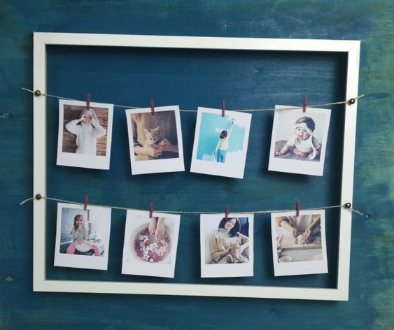 15 original ways to hang your photos