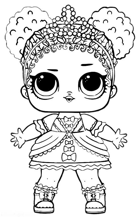 Lol Suprise Lol Dolls Colouring Pages Unicorn Coloring Pages