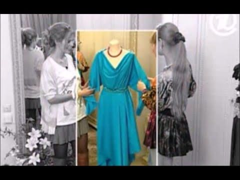 Платье с одним швом видео